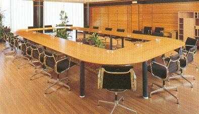 Mesas reuniones for Mesa sala de reuniones